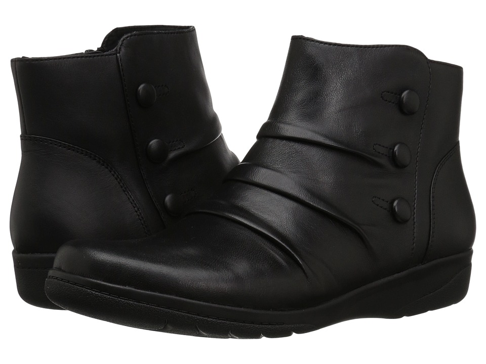 Clarks Cheyn Anne (Black Leather) Women