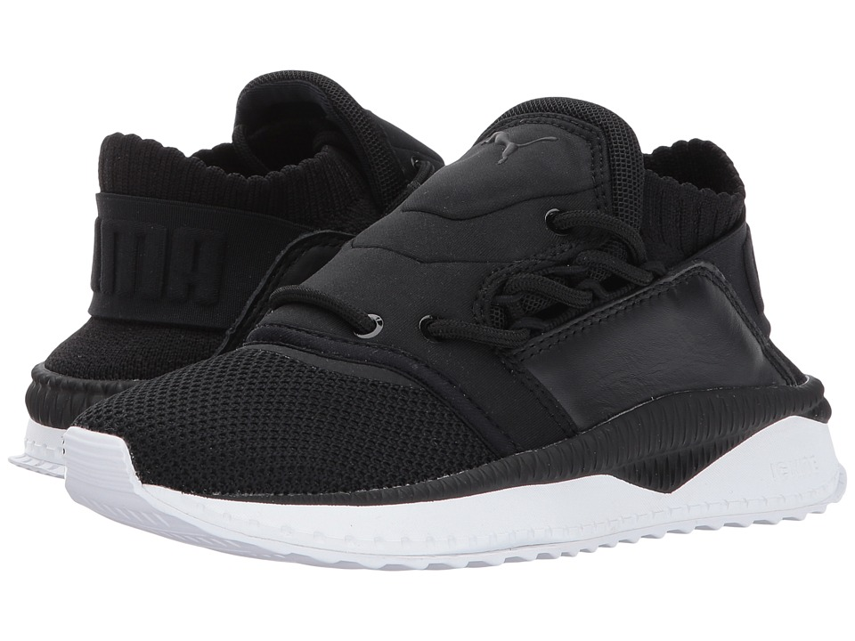 Puma Kids Tsugi Shinsei (Big Kid) (Puma Black/Puma Black/Puma White) Boys Shoes