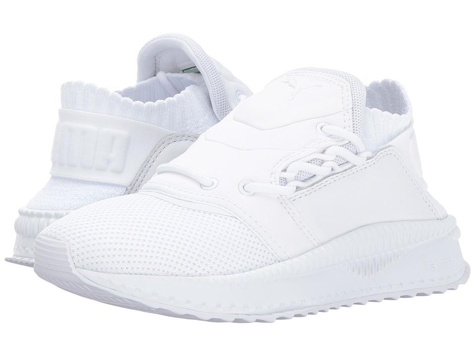 Puma Kids Tsugi Shinsei (Big Kid) (Puma White/Puma White/Puma White) Boys Shoes