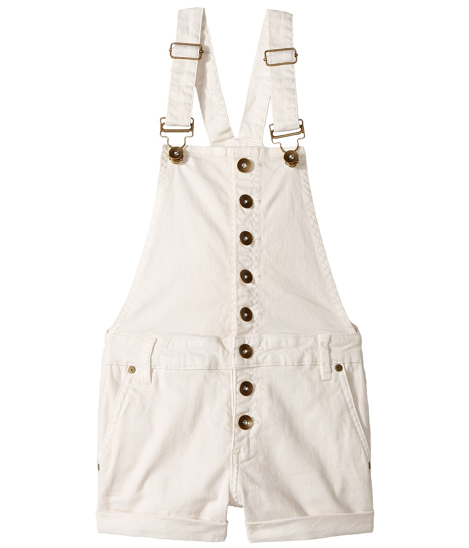 O'Neill Kids - Helen Overalls (Big Kids) (Bone White) Girl's Overalls One Piece