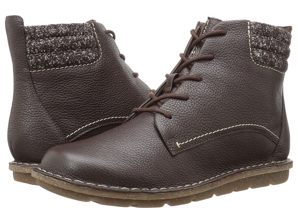 Clarks Tamitha Rose (Dark Brown Leather) Women