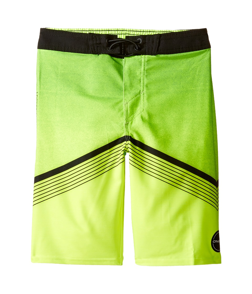 O'Neill Kids - Hyperfreak Boardshorts (Little Kids) (Neon Green) Boy's Swimwear