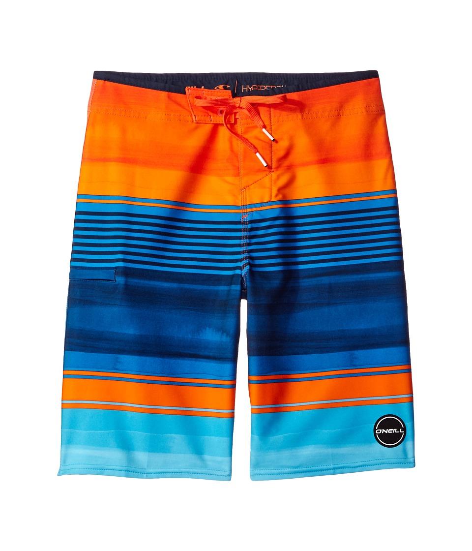O'Neill Kids - Hyperfreak Heist Boardshorts (Little Kids) (Orange) Boy's Swimwear