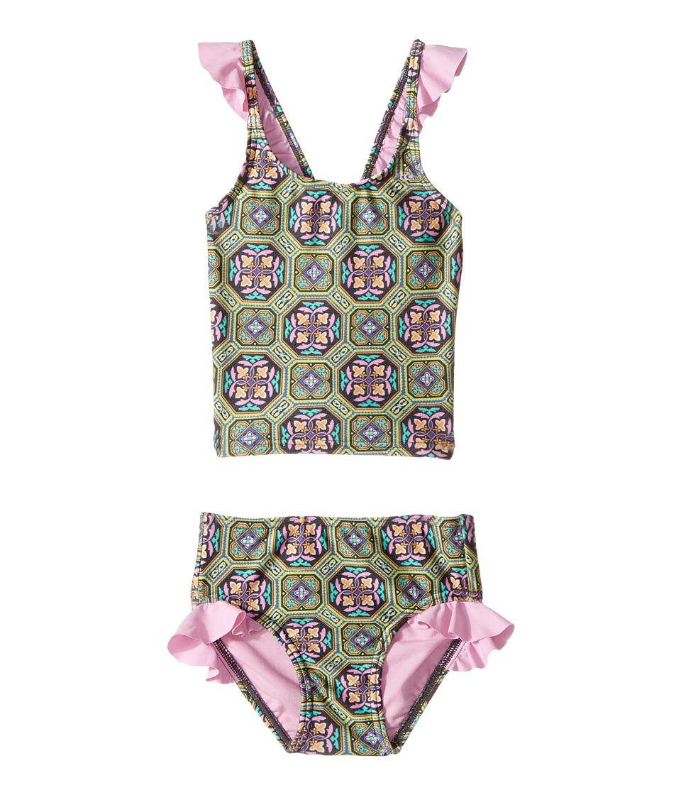 O'Neill Kids - Evelyn Tankini Set (Toddler/Little Kids) (Multi) Girl's Swimwear Sets