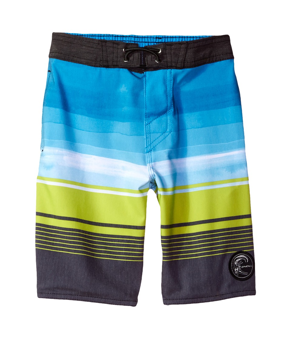 O'Neill Kids - Hyperfreak Source 24/7 Boardshorts (Toddler/Little Kids) (Black) Boy's Swimwear