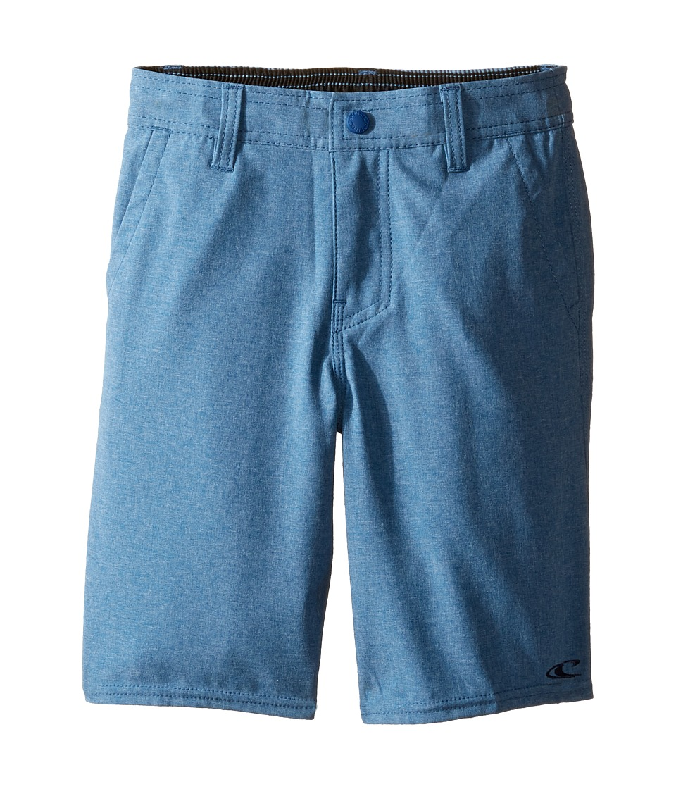 O'Neill Kids - Loaded Heather Hybrid Shorts (Little Kids) (Heather Blue) Boy's Shorts