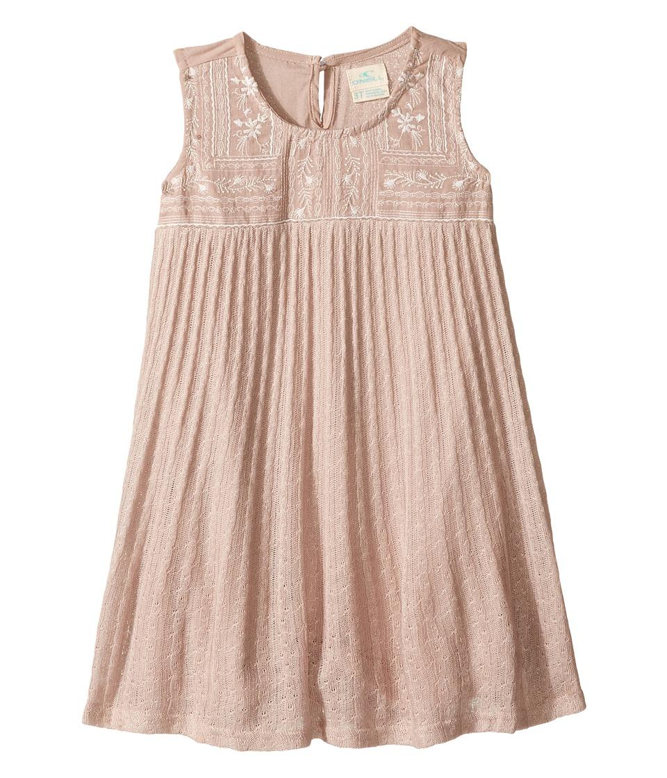 O'Neill Kids - Brunch Dress (Toddler/Little Kids) (Silk Worm) Girl's Dress