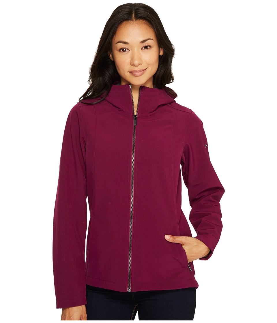 Columbia - Kruser Ridge Plush Soft Shell Jacket (Dark Raspberry) Women's Coat