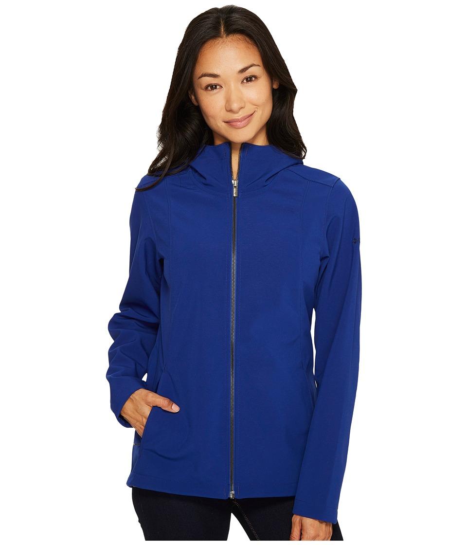 Columbia - Kruser Ridge Plush Soft Shell Jacket (Dynasty) Women's Coat