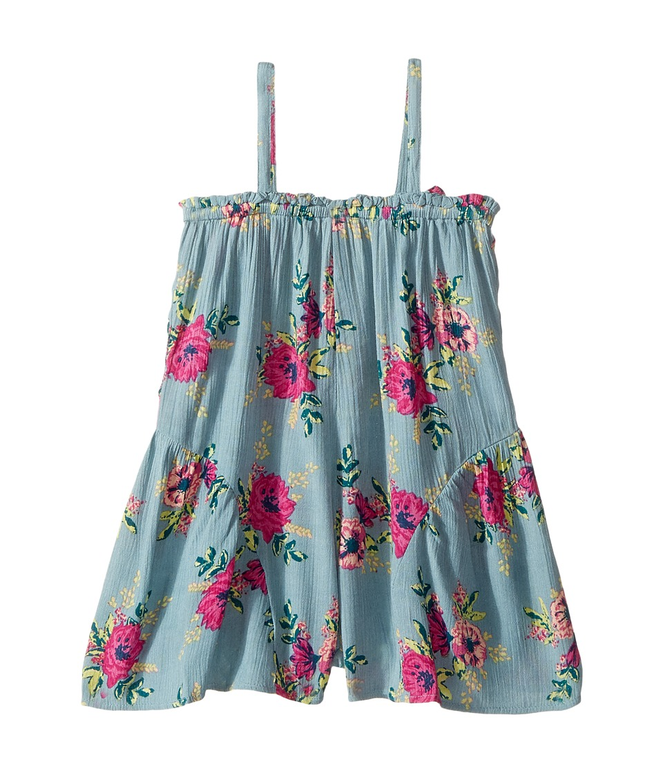 O'Neill Kids - Flora Romper (Toddler/Little Kids) (Agate Green) Girl's Jumpsuit & Rompers One Piece