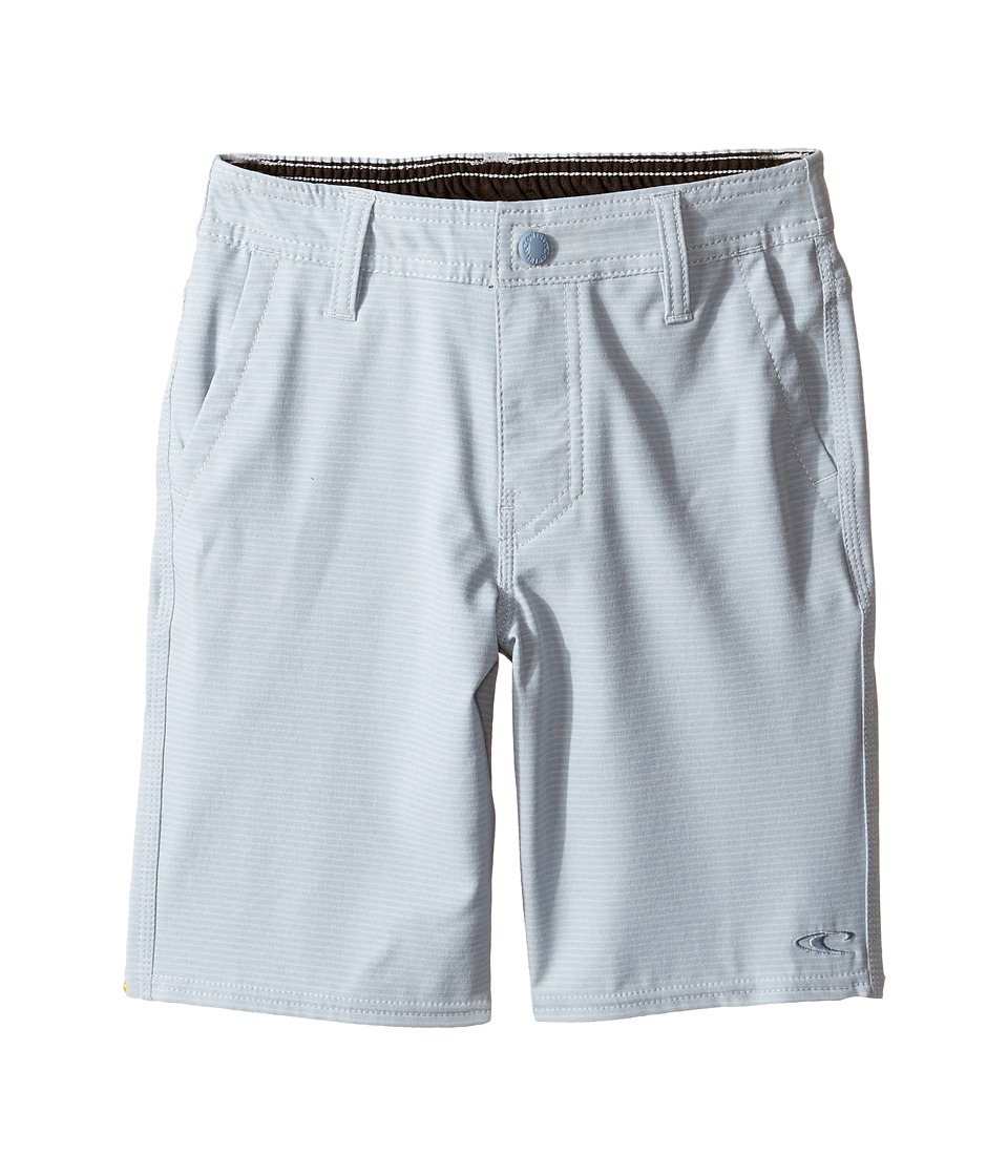 O'Neill Kids - Locked Stripe Hybrid Shorts (Toddler/Little Kids) (Light Blue) Boy's Shorts