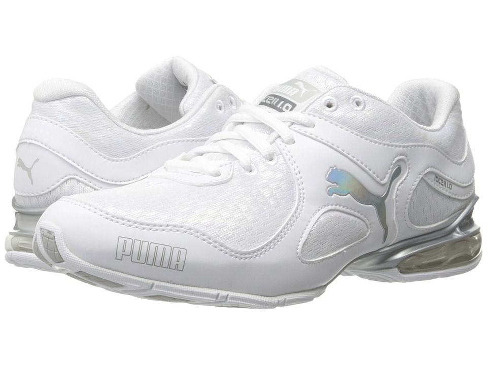PUMA - Cell Riaze Prism (Puma White/Puma Silver) Women's Shoes