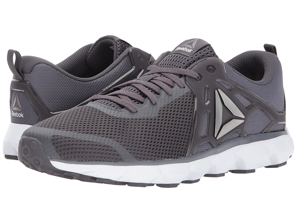 Reebok Hexaffect Run 5.0 MTM (Ash Grey/Pewter/White/Alloy) Men
