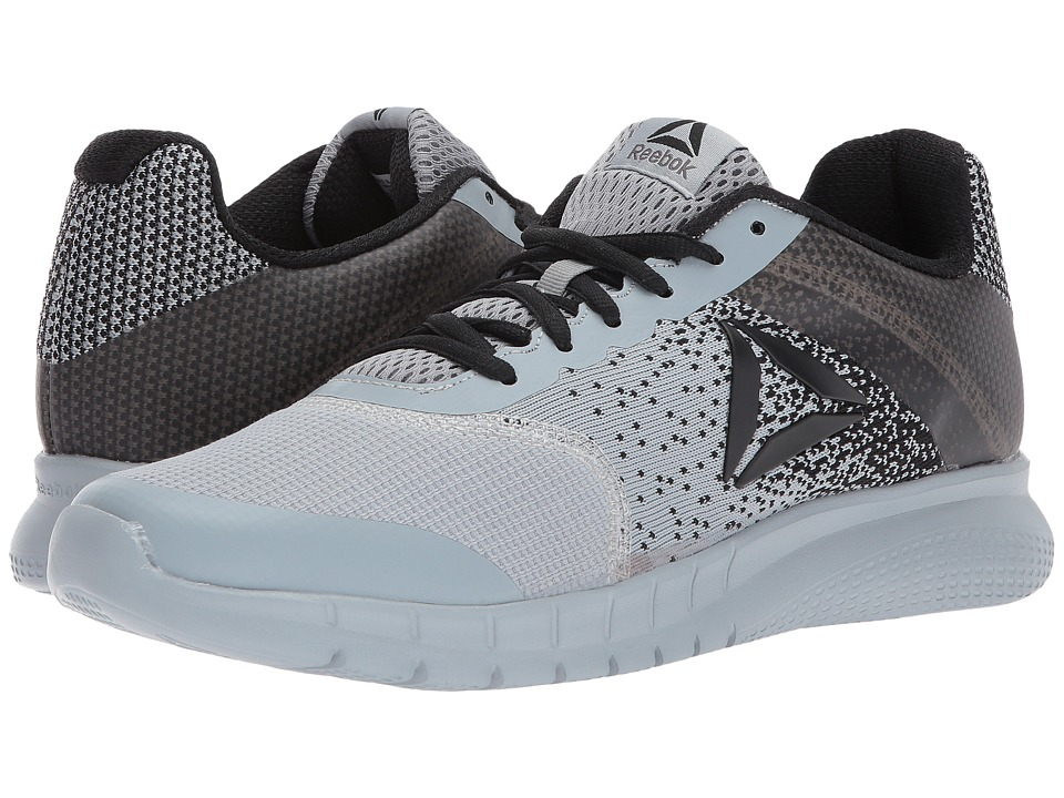 Reebok - Instalite Run (Meteor Grey/Black) Men's Running Shoes