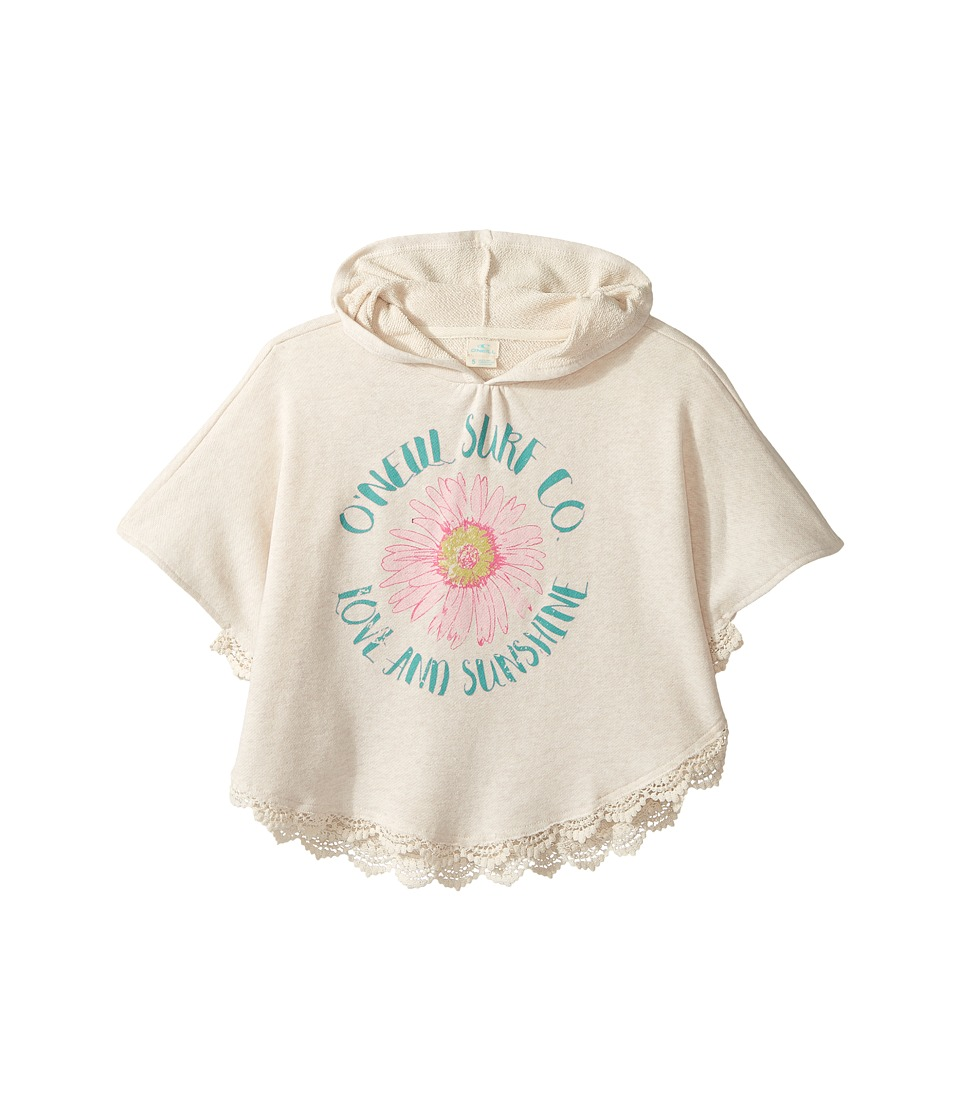 O'Neill Kids - Dreamer Poncho (Toddler/Little Kids) (Oatmeal Heather) Girl's Sweater