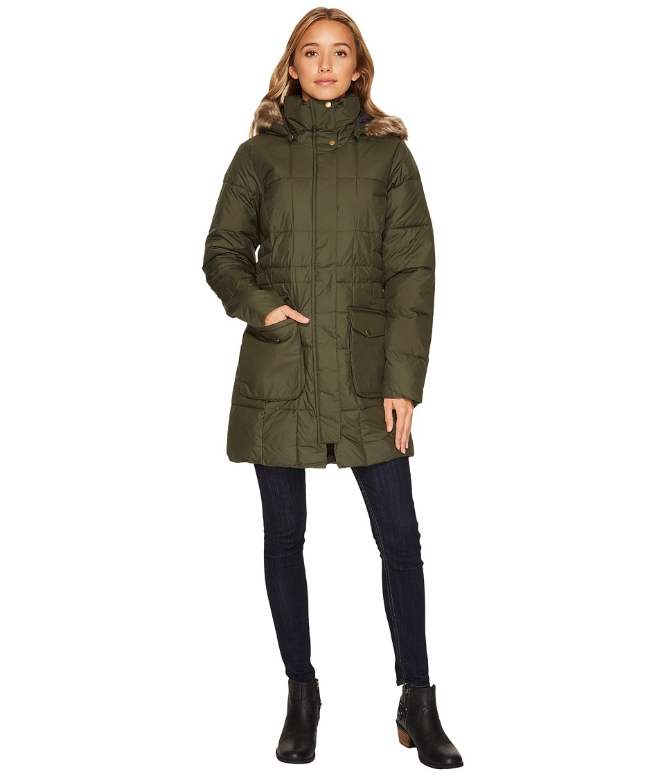 Columbia Lone Creek Mid Coat (Surplus Green) Women