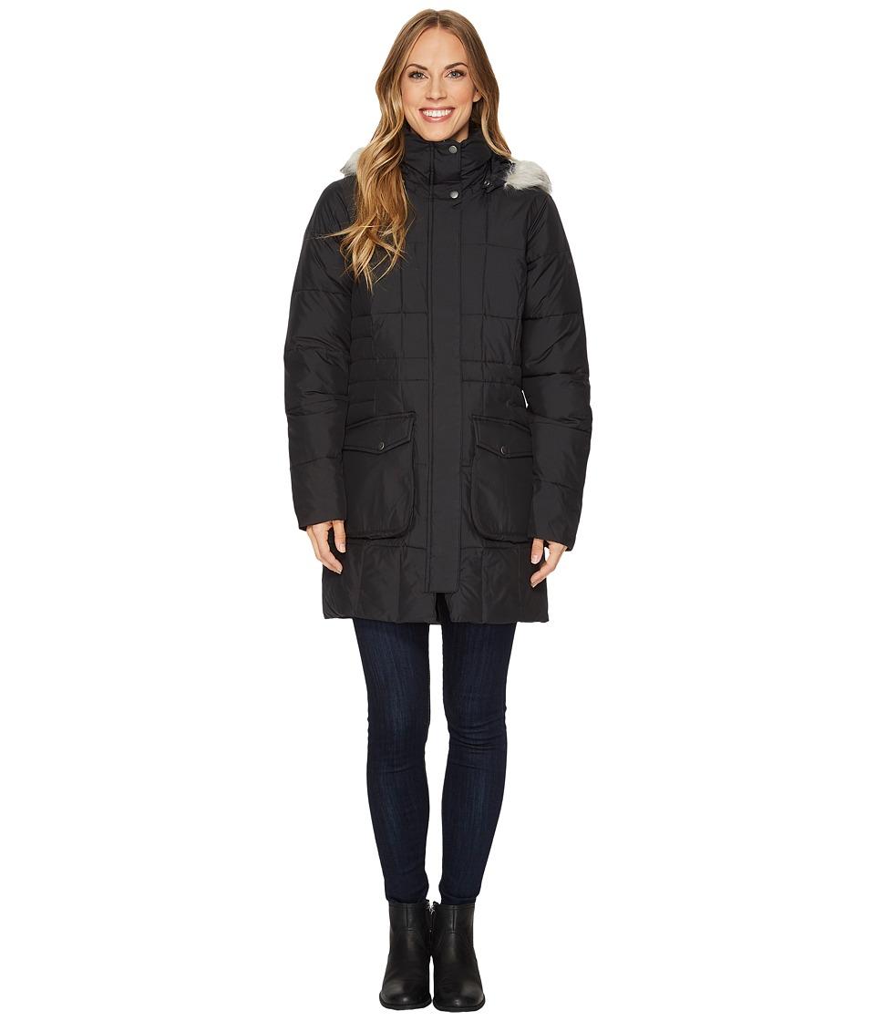 Columbia - Lone Creek Mid Coat (Black) Women's Coat