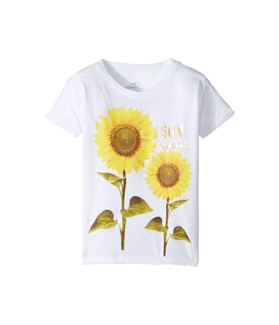 O'Neill Kids - Sunny Tee (Toddler/Little Kids) (White) Girl's T Shirt