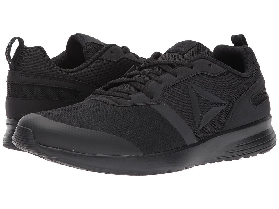 Reebok - Foster Flyer (Black/Coal) Men's Running Shoes