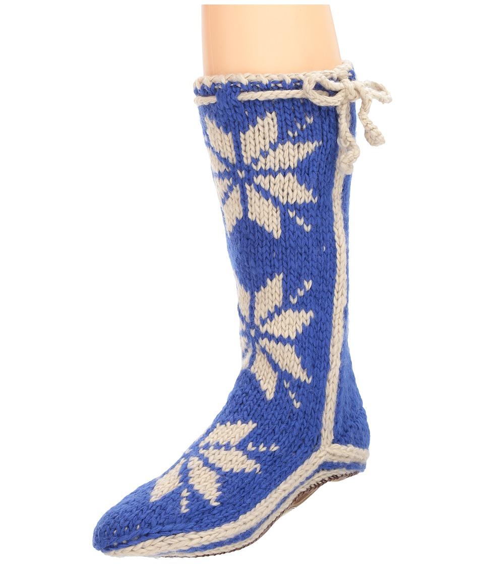 Woolrich Chalet Sock (Ocean Blue) Women