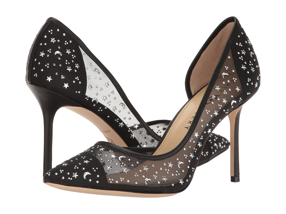 Katy Perry - The Anne (Black Mesh/Nappa) Women's Shoes