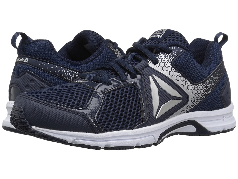 Reebok - Runner 2.0 MT (Collegiate Navy/Electric Flash/Silver Metallic) Men's Running Shoes