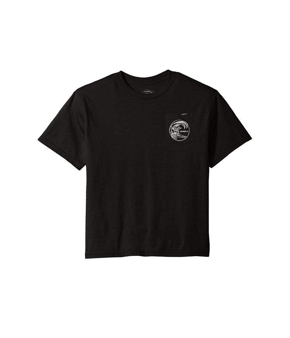 O'Neill Kids - Slabs Tee (Little Kids) (Black) Boy's T Shirt
