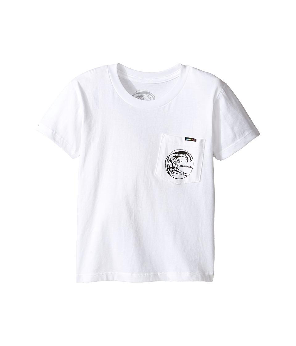 O'Neill Kids - Slabs Tee (Little Kids) (White) Boy's T Shirt
