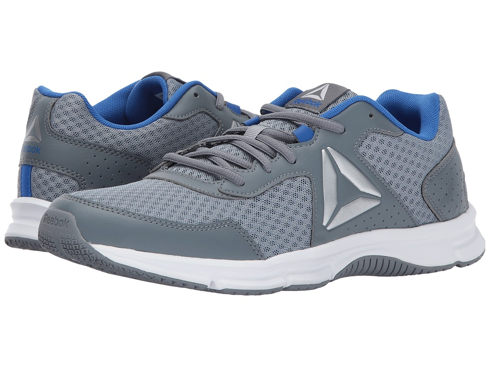 Reebok - Express Runner (Meteor Grey/Asteroid Dust/Vital Blue/Silver/White) Men's Running Shoes