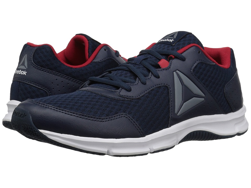 Reebok - Express Runner (Collegiate Navy/Excellent Red/Asteroid Dust/White) Men's Running Shoes