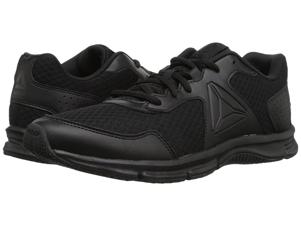 Reebok - Express Runner (Black/Coal) Men's Running Shoes