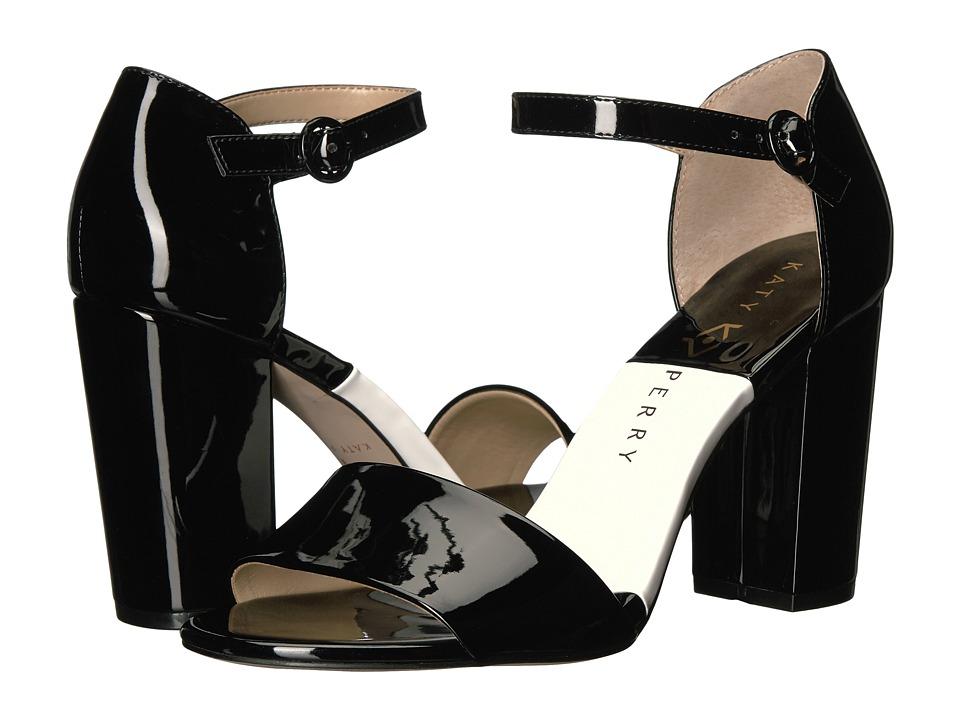 Katy Perry - The Liz (Black Patent) Women's Shoes