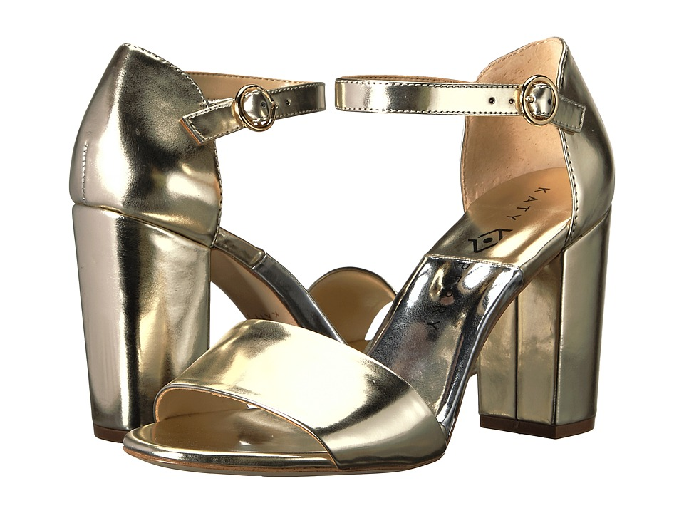 Katy Perry - The Liz (Gold Patent) Women's Shoes