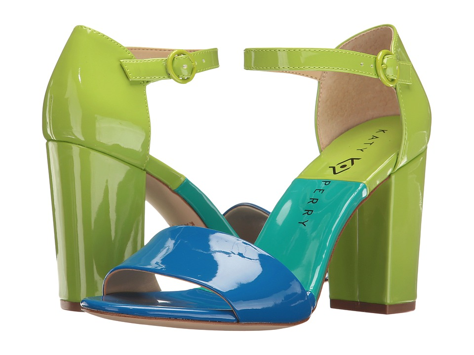 Katy Perry - The Liz (Ocean Blue Patent) Women's Shoes