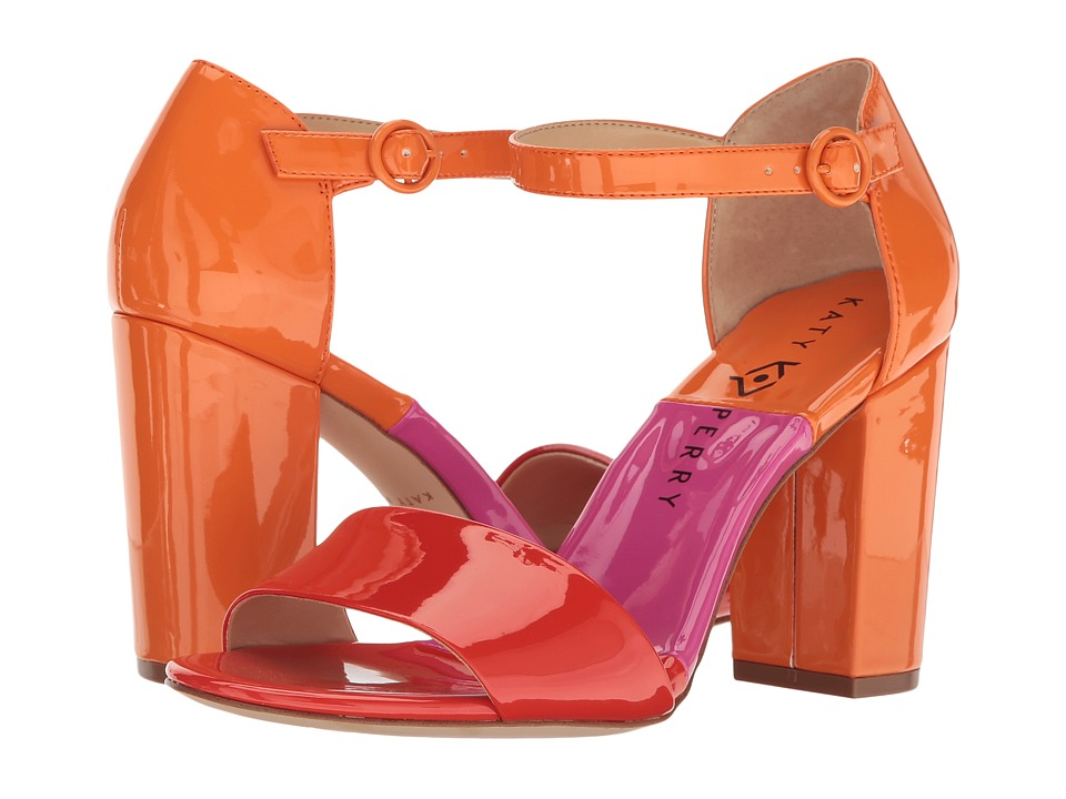 Katy Perry - The Liz (Red/Orange Patent) Women's Shoes