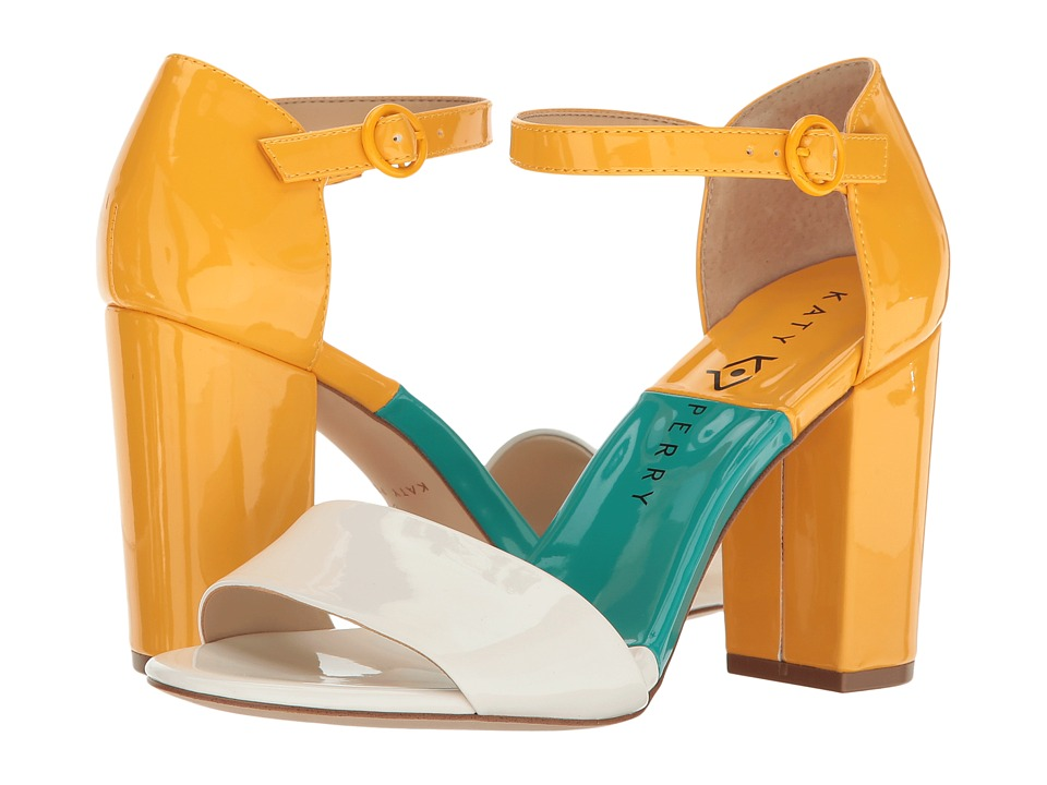 Katy Perry - The Liz (White Patent) Women's Shoes