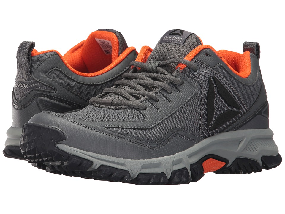 Reebok - Ridgerider Trail 2.0 (Alloy/Coal/Orange/Flint Grey/Black/Silver/Pewter) Men's Walking Shoes