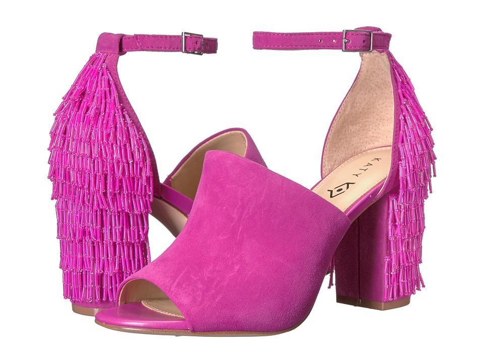 Katy Perry - The Mia (Fuchsia Suede) Women's Shoes