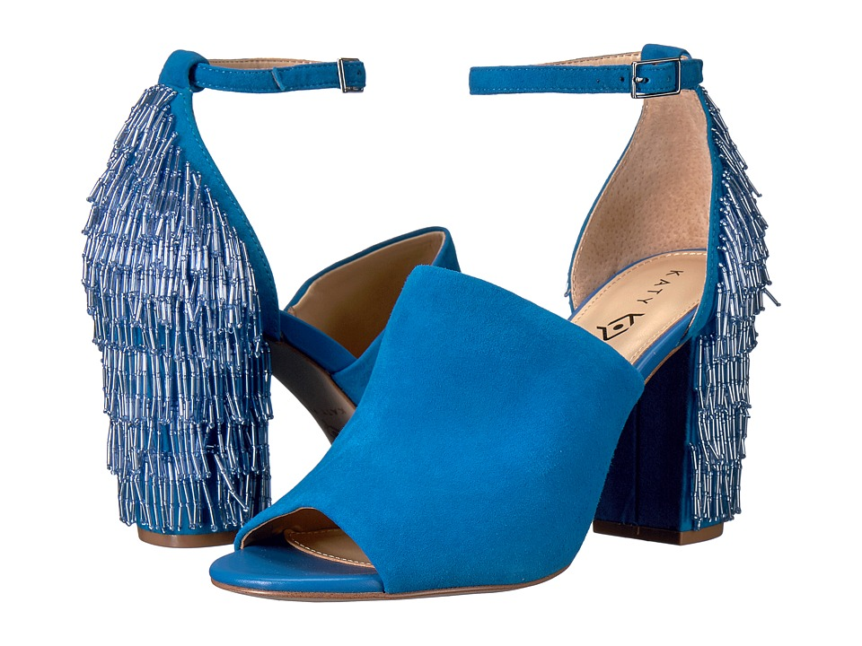 Katy Perry - The Mia (Ocean Blue Suede) Women's Shoes