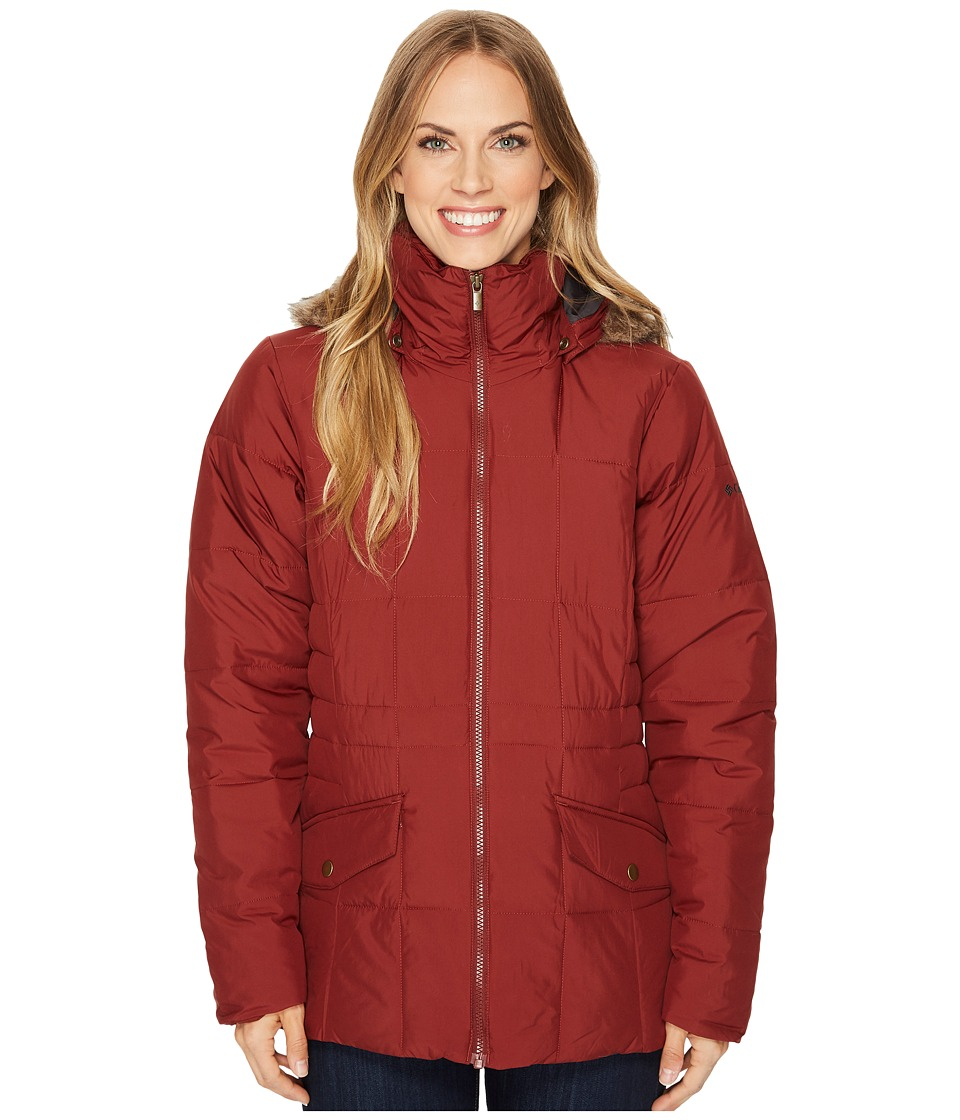 Columbia Lone Creek Jacket (Deep Rust) Women