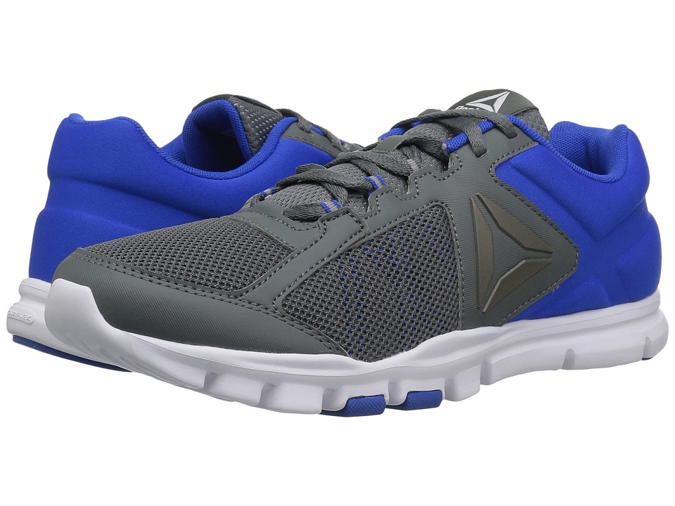Reebok - Yourflex Train 9.0 MT (Alloy/Vital Blue/White) Men's Cross Training Shoes