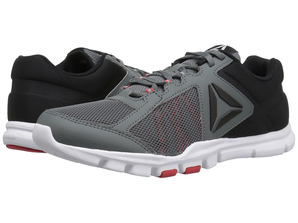 Reebok - Yourflex Train 9.0 MT (Alloy/Primal Red/Black/White) Men's Cross Training Shoes