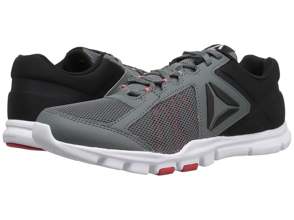 Reebok - Yourflex Train 9.0 MT (Alloy/Primal Red/Black/White) Men's Cross Training Shoes
