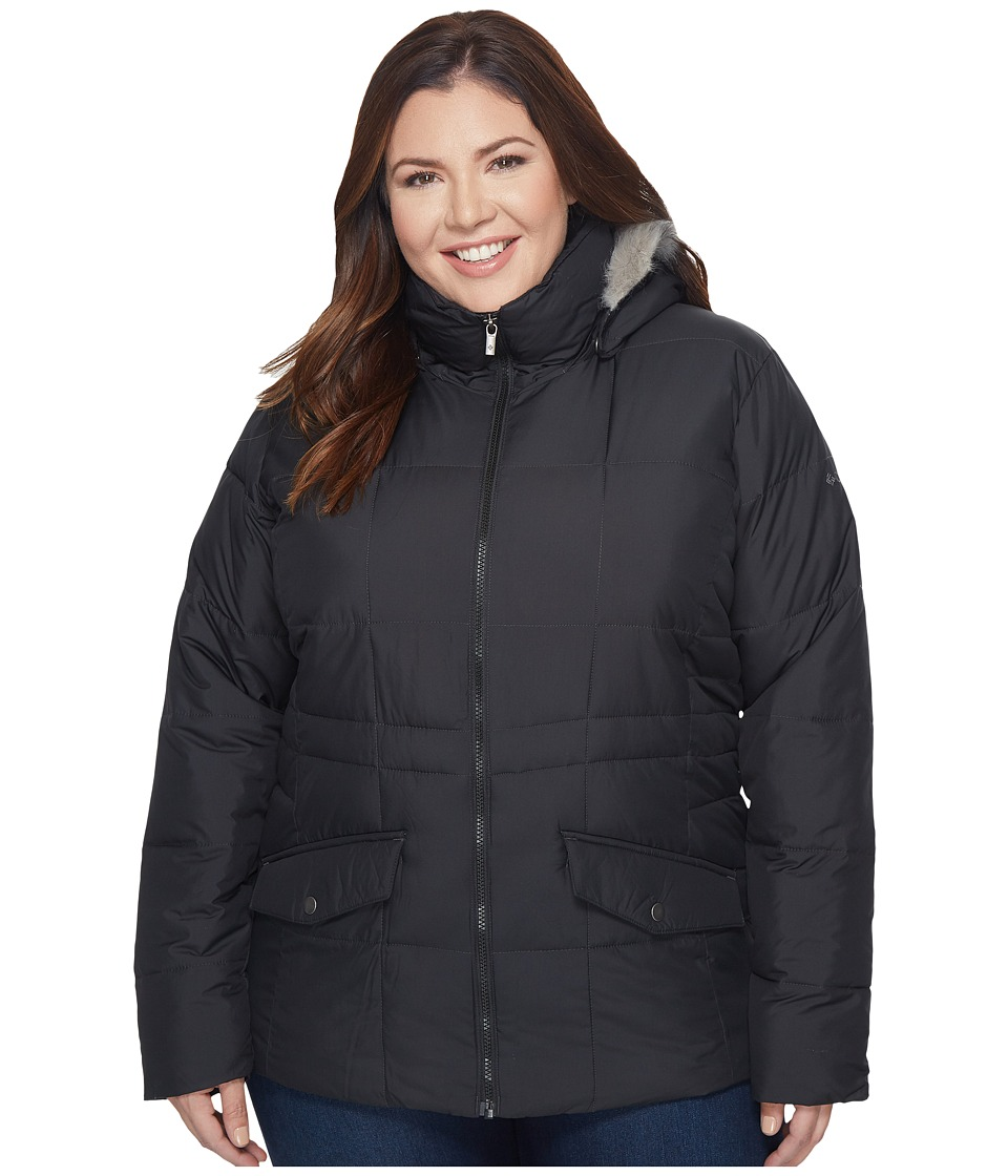 Columbia Plus Size Lone Creek Jacket (Black 1) Women