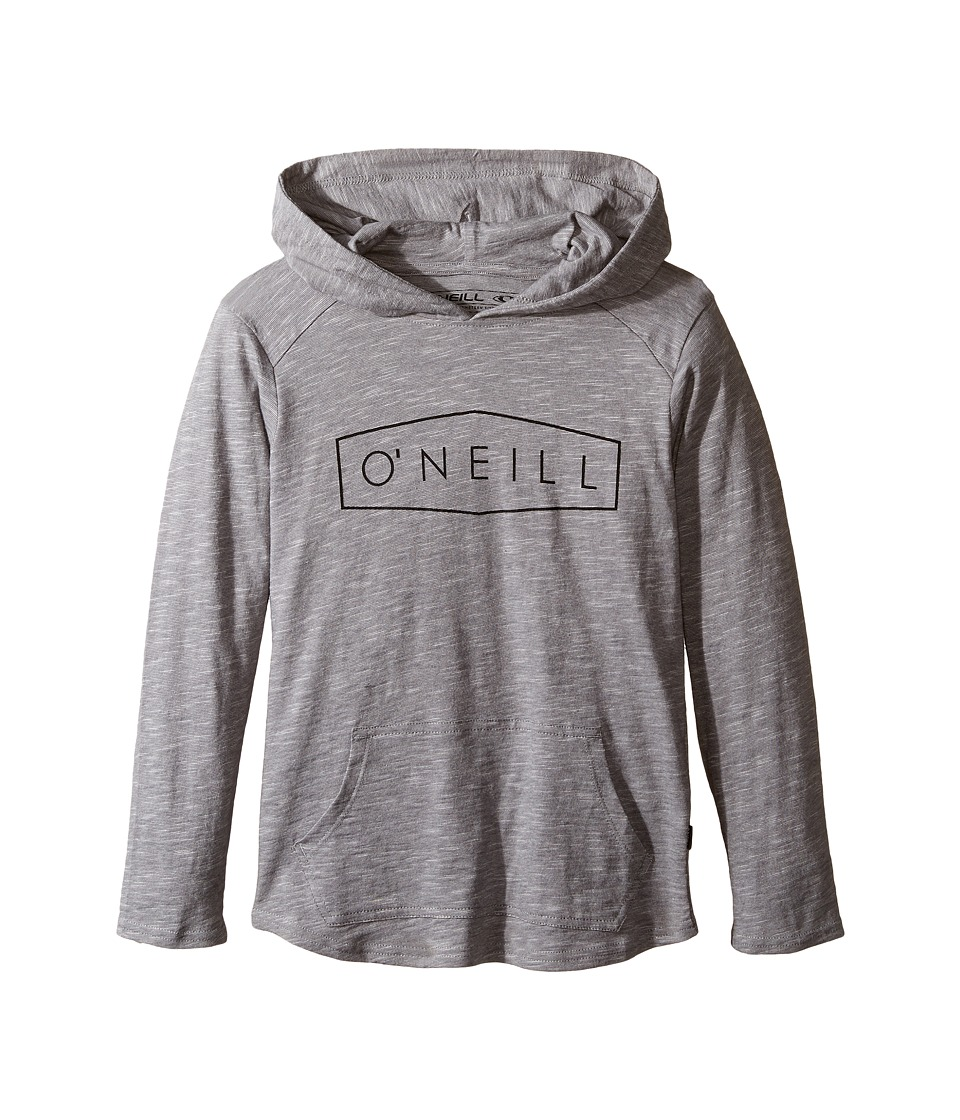 O'Neill Kids - Unity Hooded Sweatshirt (Little Kids) (Grey) Boy's Sweatshirt