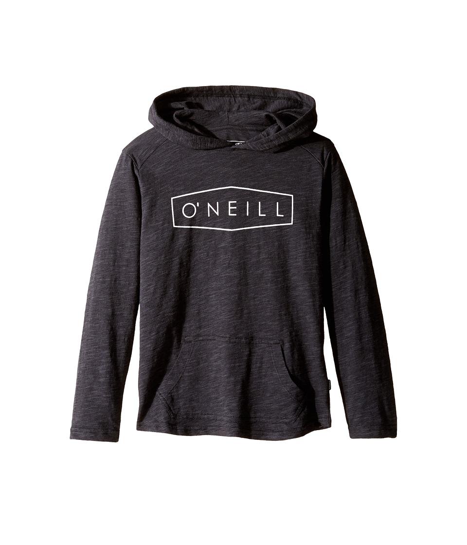 O'Neill Kids - Unity Hooded Sweatshirt (Little Kids) (Black) Boy's Sweatshirt