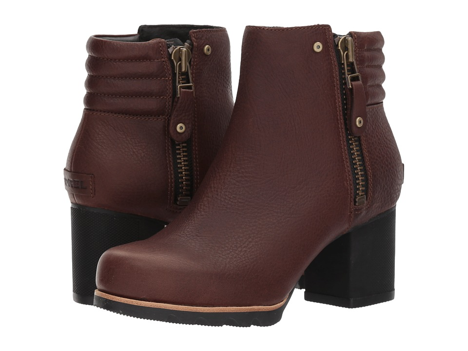 SOREL Danica Bootie (Tobacco/Black) Women