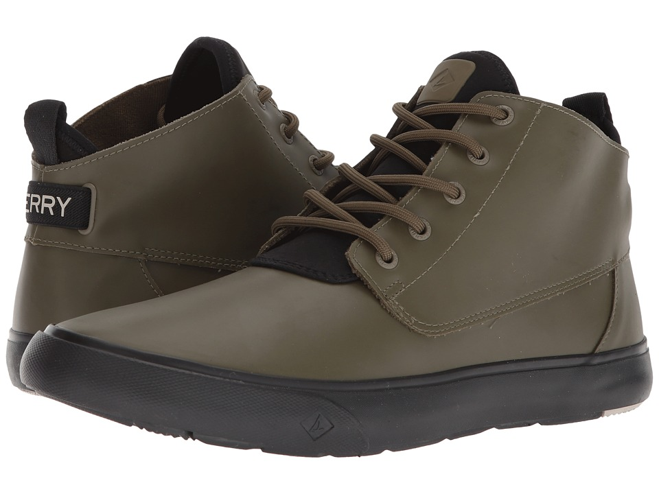 Sperry Cutwater Chukka Rubber (Olive) Men