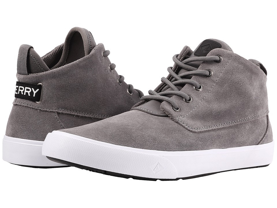 Sperry Cutwater Chukka Suede (Charcoal) Men