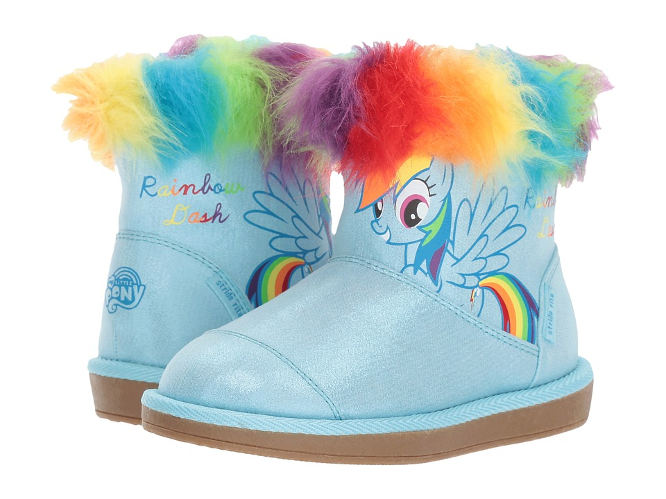 Stride Rite - My Little Pony Rainbow Dash Wonderbolt (Toddler/Little Kid) (Blue) Girls Shoes